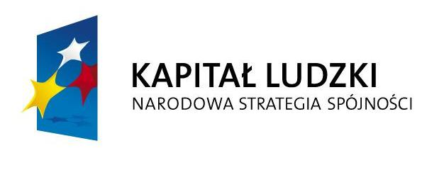 Logo Projektu Operacyjnego Kapitał Ludzki
