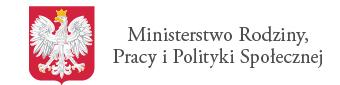 Logo Strony Ministerstwa Rodziny Pracy i Polityki Społecznej